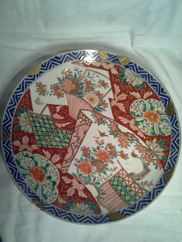 19th Century Japanese Imari Charger (repaired)
